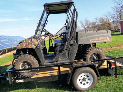 Tie Down your UTV in seconds