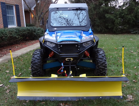 Eagle utv plow system more pictures of our polaris rzrs with a 66 inch american eagle utv plow installed publicscrutiny Image collections